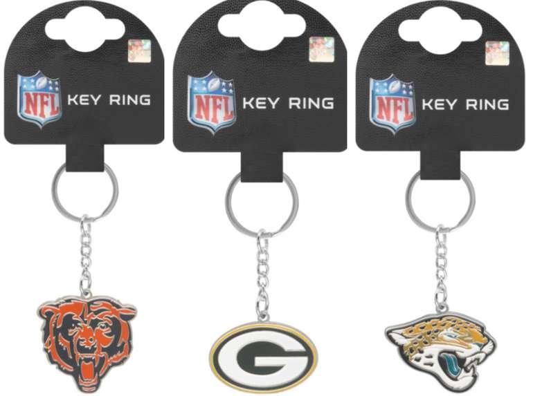 NFL Schlüsselanhänger mit hohem Rabatt bei SportSpar: z.B Green Bay Packers NFL Wappen für 1,99€ zzgl. Versand (statt 8€)