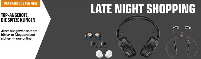 Saturn Audio & Kopfhörer Late Night Shopping 2