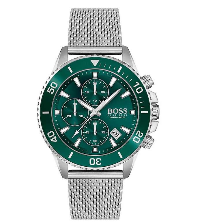 Christ: Staffelrabatt auf Uhren und Schmuck - z.B. Hugo Boss Chronograph Admiral für 295,64€ (statt 332€)