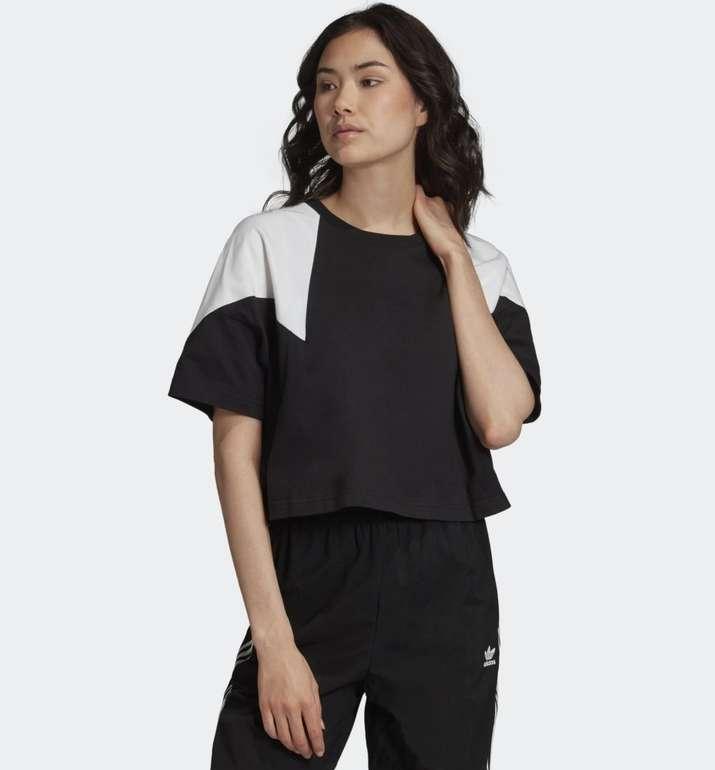 Adidas Originals Damen Large Logo T-Shirt in 2 Farben ab 13,63€ (statt 30€) - Creators Club