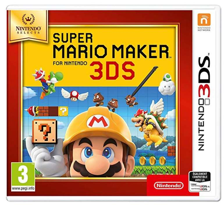 Super Mario Maker (3DS) für 12,21€ inkl. Versand (statt 19€)