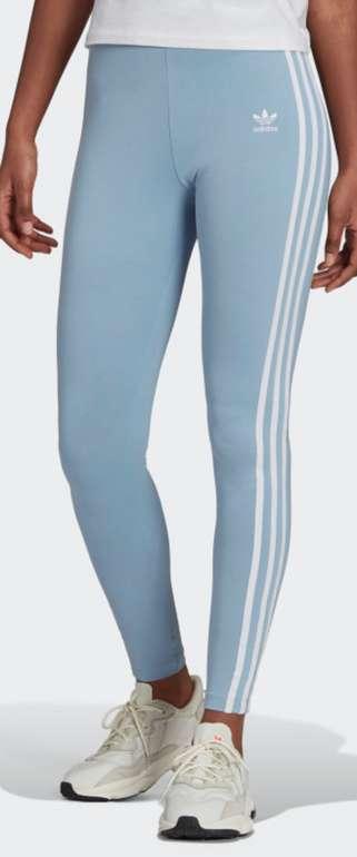 adidas Adicolor Classics 3-Streifen Leggings in blau für 21€ inkl. Versand (statt 30€) - Creators Club!