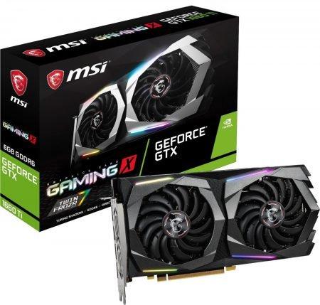 MSI Grafikkarte GeForce GTX 1660 Ti Gaming X 6 GB für 227,99€ inkl. VSK