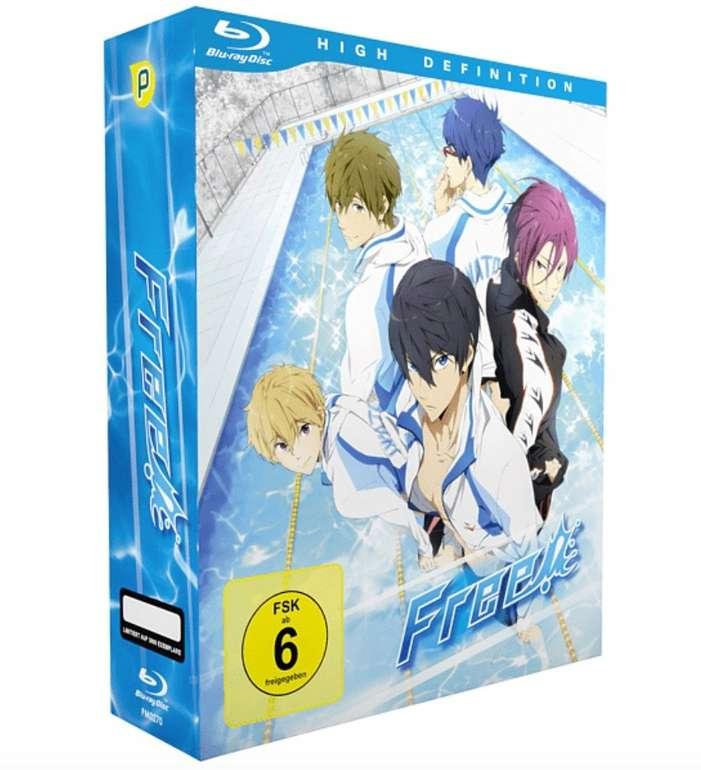 Free! - Iwatobi Swim Club - Blu-ray Box 1 - Limited Edition mit Sammelbox [Blu-ray] für 22€ - nur Abholung!