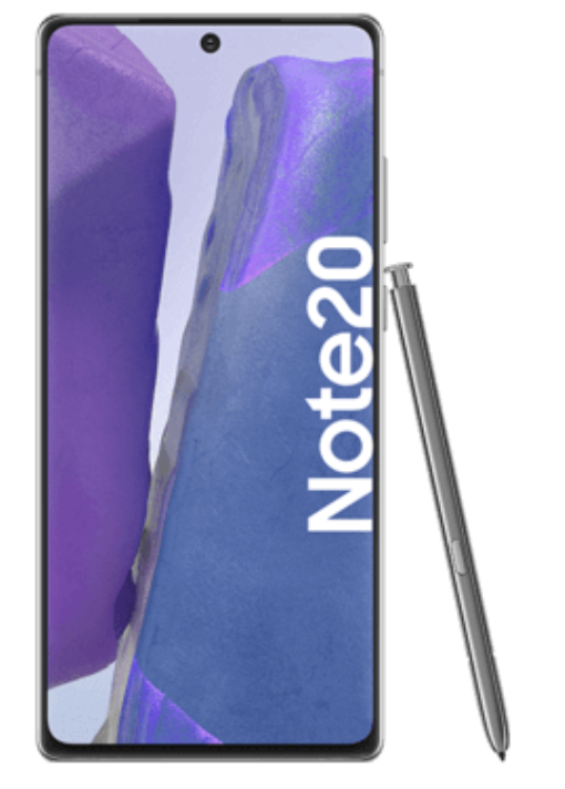 Samsung Galaxy Note20 (29€) + Vodafone MD: green LTE 10GB Promo für 24,99€ mtl.