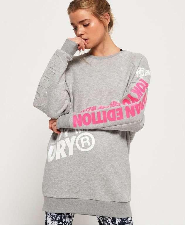 Superdry Damen Japan Edition Pulloverkleid für 32€ inkl. Versand (statt 47€)