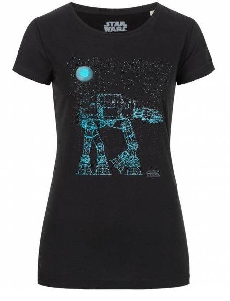 Gozoo x Star Wars Damen T-Shirt in Schwarz für 7,28€ inkl. Versand (statt 11€)