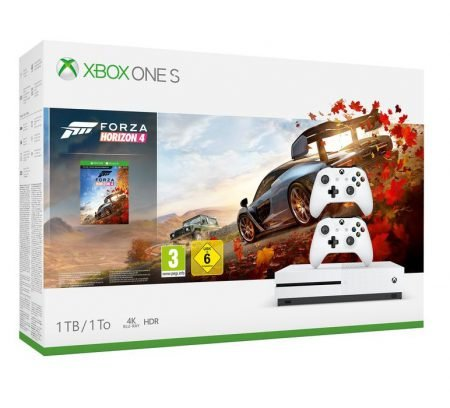 Xbox One S 1TB + Forza Horizon 4 + 2. Controller für 219€ inkl. Versand