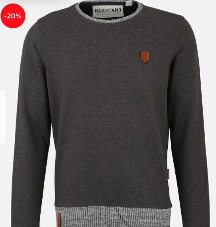 """Naketano Herren Sweatshirt """"Geschichtenerzähler"""" für 33,92€ (statt 42€)"""
