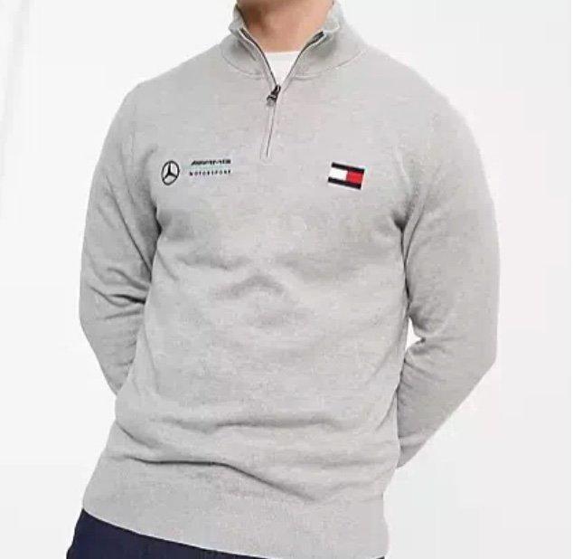 ASOS: Tommy Hilfiger Sale mit 20% Extra ab 30€ (Neukunden) – z.B. Tommy Hilfiger x Mercedes AMG Sweatshirt für 57,56€