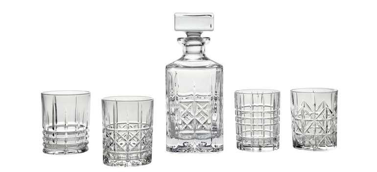 Nachtmann Gläserset mit Karaffe und 4 Whiskeygläser für 35,85€ inkl. Versand (statt 61€)