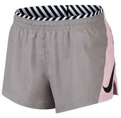 Nike Sport-Hose 'Elevate SD' in sand /rosa für 20,32€ (statt 25€)