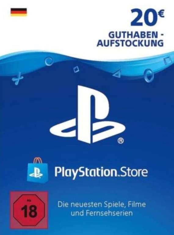 20€ Sony PSN PlayStation Network Guthaben für 16€