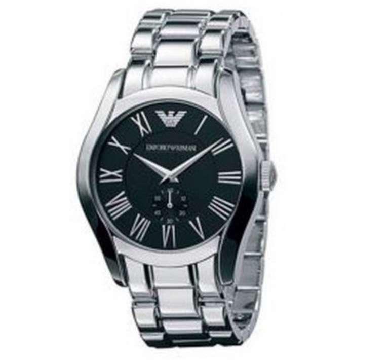 Emporio Armani Watch AR0680 - Herren Edelstahl Armbanduhr für 95,90€ (statt 127€)