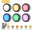 6er Pack Elfeland LED Nachtlichter mit Fernbedienung für 11,39€ inkl. Prime VSK