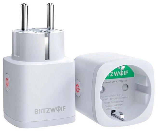 2er Pack ZigBee-Steckdose BlitzWolf SHP13 mit smarten Fuktionen für 21,01€ inkl. Versand (statt 26€)