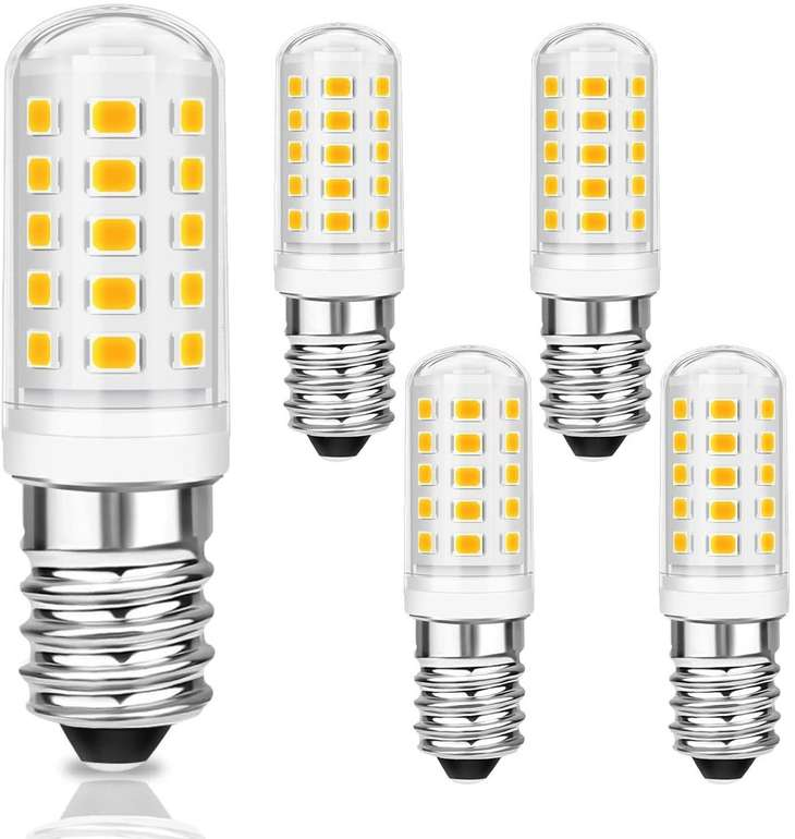 Kingso E14 LED Lampen im 5er Pack (5W, 500 Lumen) für 6,99€ inkl. Prime Versand (statt 12€)