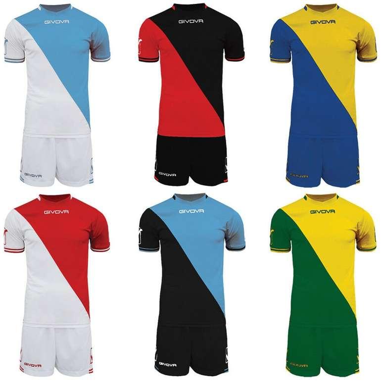Givova Craft Fußball Trikot Set inkl. Shorts für 9,50€ (statt 19€)