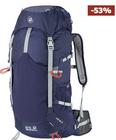 Jack Wolfskin Tourenrucksack Alpine Trail 40 in blau für 69€