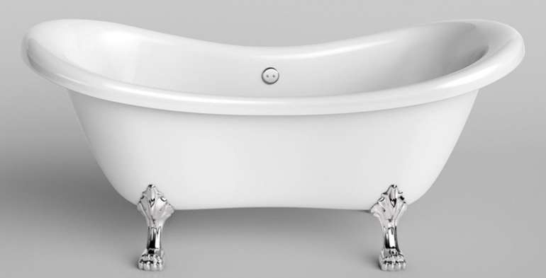 """Home Deluxe """"Fama"""" - freistehende Badewanne für 333,37€ inkl. Versand (statt 419€)"""