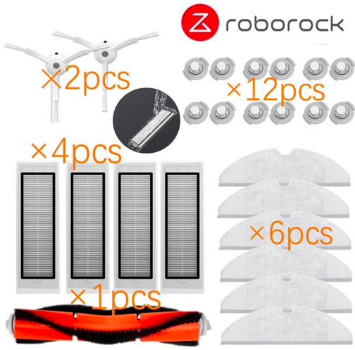 25-tlg. Xiaomi Roborock Ersatzteile Paket für 15,73€ inkl. Versand