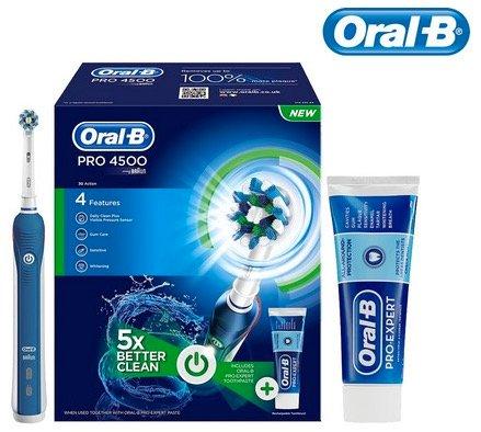 Oral-B PRO 4500 elektrische Zahnbürste mit Sensor nur 59,99€ inkl. Versand