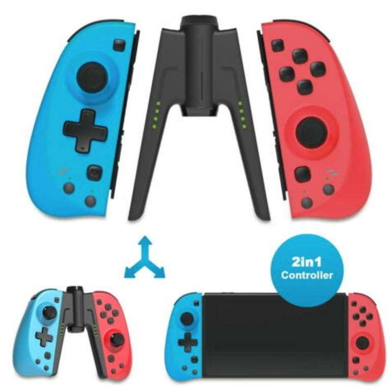 """2er Set Eaxus Wireless Bluetooth """"Joy-Controller"""" für Nintendo Switch nur 29,99€ (statt 38€)"""