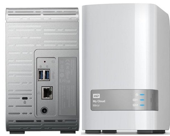 WD My Cloud Mirror 6TB NAS (2 Generation) für 199,80€ inkl. Versand (statt 299€)