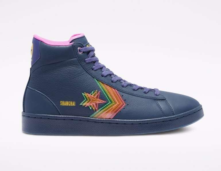 Converse Heart Of The City Pro Leather High Top Shanghai Sneaker für 59,49€ (statt 80€)
