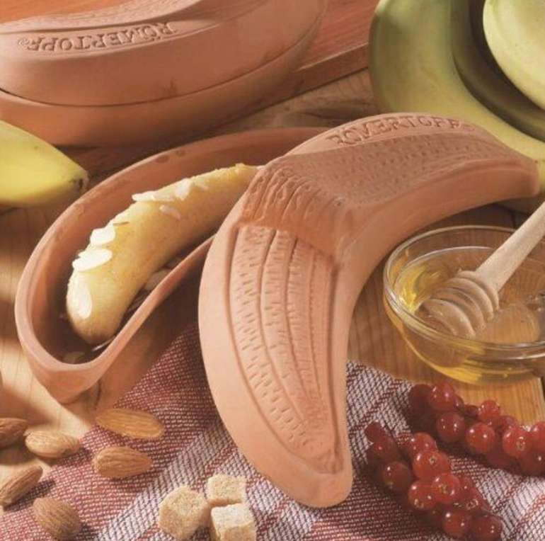 Römertopf Keramik Thermo Bananenbräter für 12€ inkl. Versand (statt 22€)