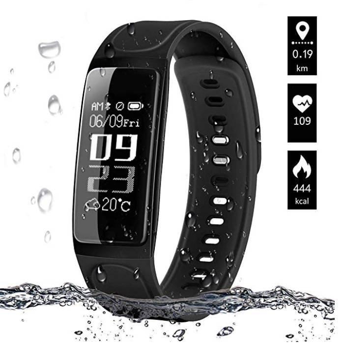 Elegiant Fitness Tracker mit IP67 Schutz für 14,99€ inkl. Prime (statt 22€)