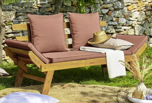 Zandiara Gartenbank aus Akazienholz für 169,25€ inkl. Versand (statt 229€)