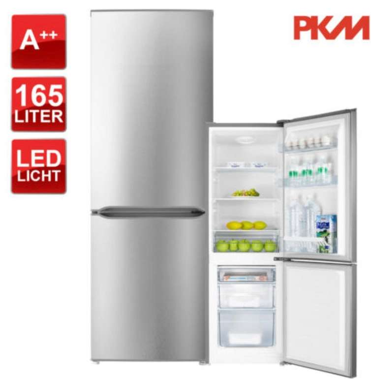 PKM KGK178.4A++IX Kühl-Gefrierkombination (178 Liter, LED, A++) für 209,90€ inkl. Versand (statt 320€)