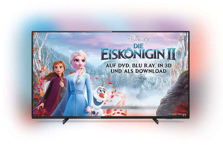 """Philips 50PUS6704/12 - 50"""" Ambilight 4K UHD LED Smart TV (HDR 10+, Dolby Vision, Dolby Atmos) für 317,64€ bei Abholung"""