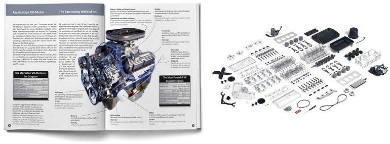 Franzis Lernpaket V8-Motor 2