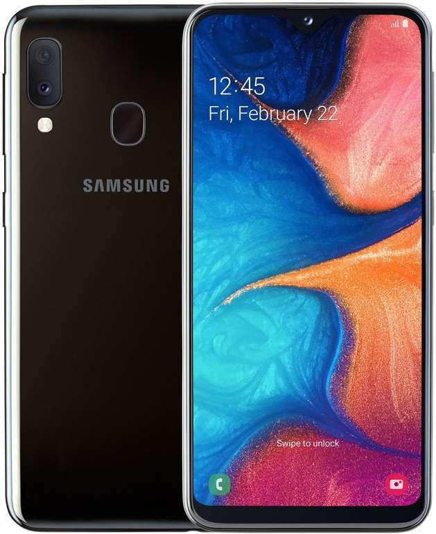 Samsung Galaxy A20e inkl. o2 Super Select S Allnet- /SMS-Flat mit 4GB LTE für 9,99€ mtl.