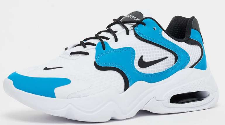 Nike Air Max 2X Herren Sneaker in Weiß/Blau für 52,99€inkl. Versand (statt 100€)