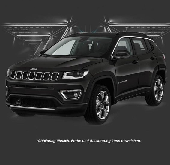 Leasingmarkt Black Friday Leasing Angebote, z.B. Jeep Compass Automatik MY19 Limited für 186,55€ mtl.