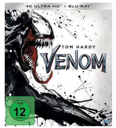 Venom 4K Ultra HD (+ Blu-ray 2D) für 19€ inkl. Versand (statt 24€)