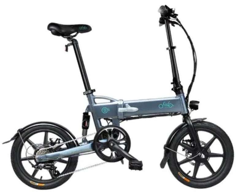 Fiido D2 - 6 Zoll E-Bike (250W Motor, 7.8ah Akku, bis zu 25km/h) für 430,05€ (statt 510€)