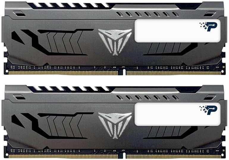 Patriot Viper Steel 16GB Kit DDR4-4000 CL19 Arbeitsspeicher für 85,98€ inkl. Versand (statt 98€)