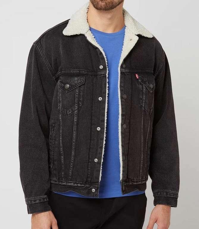 Levi's Vintage Fit Sherpa Trucker Jacket mit Teddyfell für 111,99€ inkl. Versand (statt 124€) - nur in  XL und XXL!