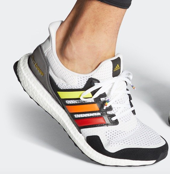 Adidas Performance Ultraboost S&L Pride Sneaker für 79,90€ inkl. Versand (statt 112€)