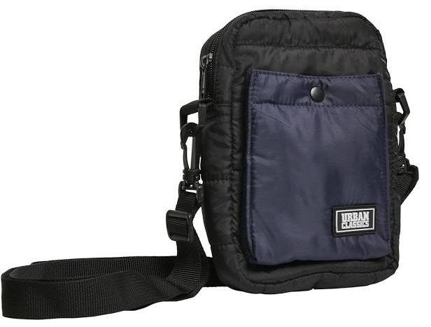 Urban Classics Unisex Tasche 'Crossbody Pouch' in Blau / Schwarz für 5,97€