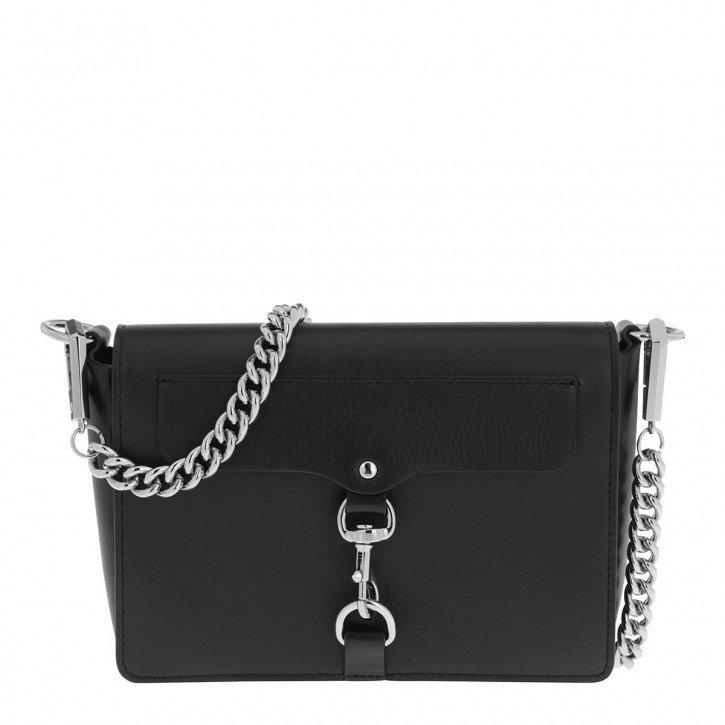 Rebecca Minkoff Mab Flap Crossbody Bag in schwarz für 75,20€ inkl. VSK