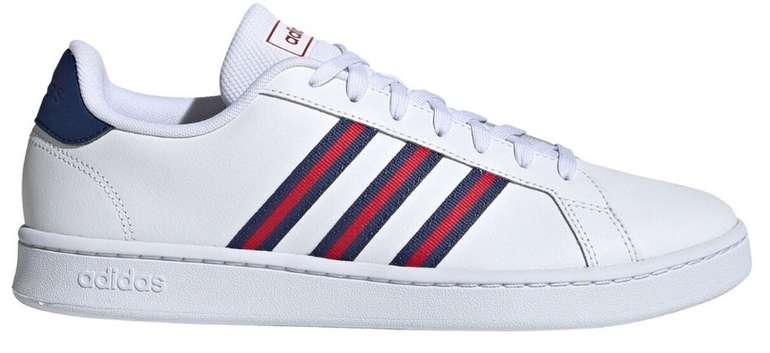 Adidas Grand Court FV8130 Sneaker in Weiss/Blau/Rot für 39,96€ (statt 50€)