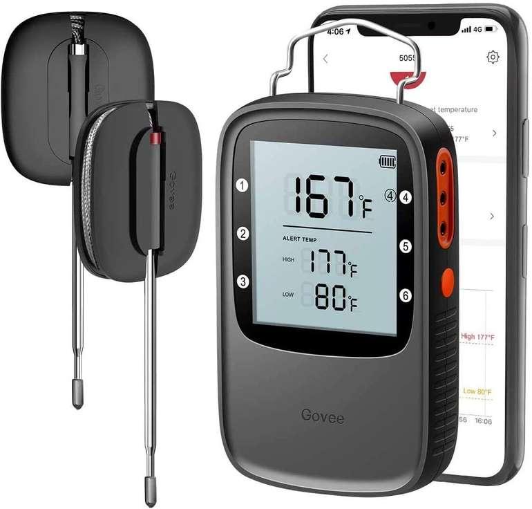 Govee Bluetooth Grillthermometer mit 2 Edelstahlsonden für 22,49€ inkl. Versand (statt 30€)