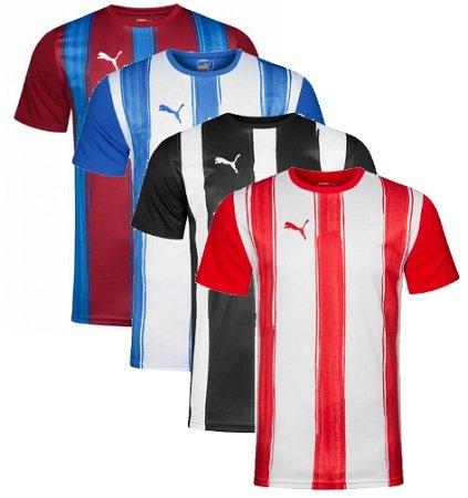 Puma Striped Jersey Herren Trikot 700753-02 je nur 3,33€ zzgl. VSK (statt 16€)