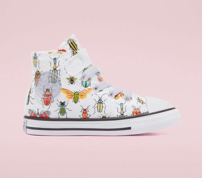 Converse A Bug's World Easy-On Chuck Taylor All Star High Top Kleinkinder Sneaker für 28,74€ (statt 49€)