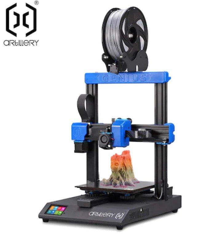 Artillery Genius 3D Drucker mit extrem leisem Schrittmotor und TFT-Touchscreen für 243,99€ (statt 361€)